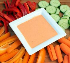 Roasted Red Pepper Dip --> Roasted Red Pepper, Greek yogurt, cream cheese, lemon juice