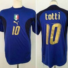 885a616e8 World Cup 2006 Italy Francesco Totti 10 Blue Home Soccer Jersey Football  Shirt Trikot Maglia Playera De Futbol Camiseta De Futbol