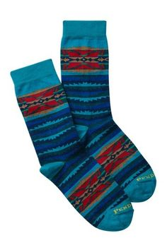 Image of PENDLETON Lahaina Wave Crew Socks