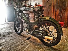 Puch Maxi S 70ccm Tuning