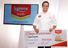Our in-house baker came 4th place for the Supreme Baking Competition! What a proud moment that was.