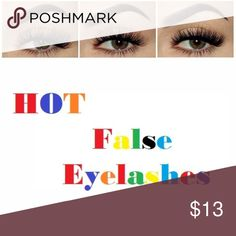 4 Pack New Reusable Natural False Eyelashes + 2 Take Her to the extreme, with Provided Glam! also keep the eyelashes intact by Pure Stainless Steel Eyelash Curlers!  4 Packs - Beautiful Reusable Natural False Eyelashes.  + 2 Bonus Pure Stainless Steel Eyelash Curlers. Makeup False Eyelashes