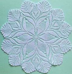 white cotton doily from Etsy