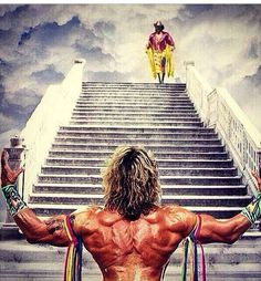 RIP two of the greatest wrestler ever known (Randy Macho Man Savage and The Ultimate Warrior) Wrestling Posters, Wrestling Wwe, British Wrestling, The Ultimate Warrior, Catch, Wwe Tna, Wwe Wallpapers, Wrestling Superstars, Wwe Wrestlers