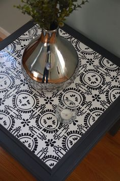 How To Tile A Table With Custom Designed Tiles | Hometalk