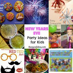 New Year's Eve Party Ideas for Kids