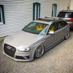 Killer Wagon by - Audi Photos Allroad Audi, Audi Wagon, Automobile, Audi A5 Coupe, Audi S4, High Performance Cars, Audi Cars, Hot Rides, Motorcycles