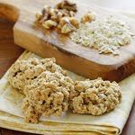 Chewy Low Fat Banana Nut Oatmeal Cookies.  I can't wait to try these.  Maybe tomorrow.