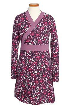 Tea Collection 'Schneevogel' Wrap Dress (Toddler Girls, Little Girls & Big Girls) available at #Nordstrom