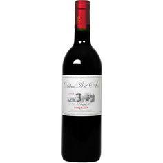 Chateau Bel-Air Bordeaux 2012 Vino suave y sedoso. Sin acidez que se pueda percibir. Lo probamos con unas pastas, y acompañó de forma armónica. No es débil ni fuerte, pero tampoco es mediocre. Cumple su función de ir al paladar sin apagar otros gustos. Creo que puede tomarse solo, sin comidas, tranquilamente.