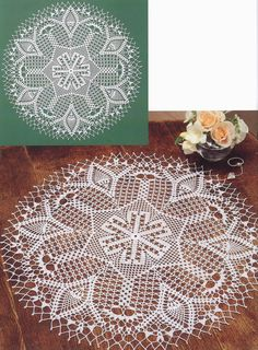 crochet home: very pretty doily