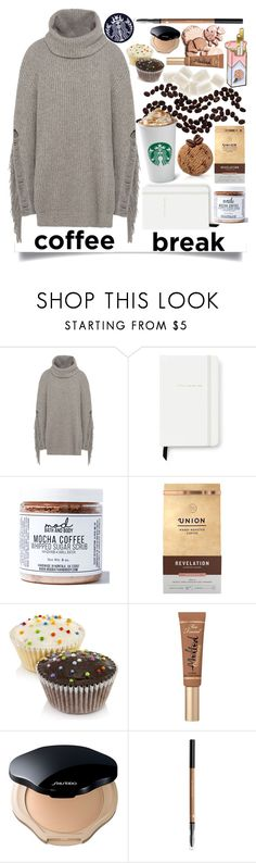 """""""♨Coffee Love♨"""" by raynebowmaster on Polyvore featuring STELLA McCARTNEY, Kate Spade, Mod Bath and Body, Too Faced Cosmetics, Shiseido, contest and coffeebreak"""