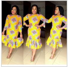 See the Latest Kente Styles Ghana African Dresses For Women, African Print Dresses, African Fashion Dresses, African Attire, African Wear, African Women, Ghanaian Fashion, African Prints, African Style