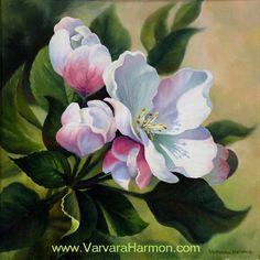 Spring Blossom - I, oil on canvas painting Varvara Harmon Oil