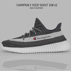 What would happen if Champion did a collab with Yeezy? Cool Adidas Shoes, Gucci Shoes Sneakers, Hype Shoes, Best Sneakers, Sneakers Nike, Mens Fashion Shoes, Sneakers Fashion, Dope Fashion, Pat Ewing