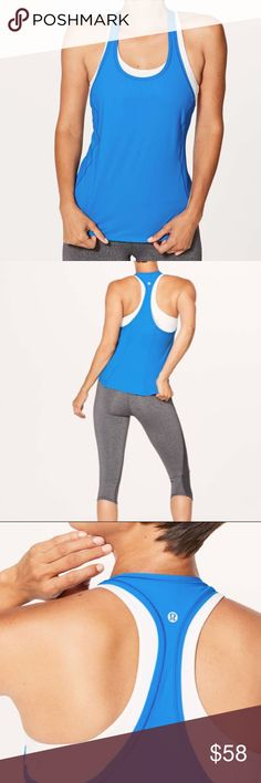 NWT AMALFI BLUE LULULEMON SHINE AND STRIDE TANK 2 Brand: Lululemon Athletica shine and stride tank              Condition: New with tag    Size 2    Amalfi blue     📌NO  TRADES  🛑NO LOWBALL OFFERS  ⛔️NO RUDE COMMENTS  🚷NO MODELING  ☀️Please don't discuss prices in the comment box. Make a reasonable offer and I'll either counter, accept or decline.   I will try to respond to all inquiries in a timely manner. Please check out the rest of my closet, I have various brands. Some new with tag…