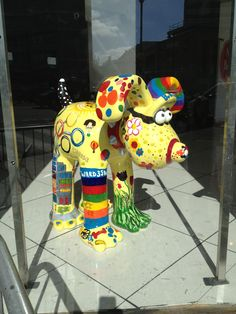 This Gromit was painted by patients at the Bristol Children's Hospital for Gromit Unleashed Exhibition, Bristol 2013. www.quillfull.com