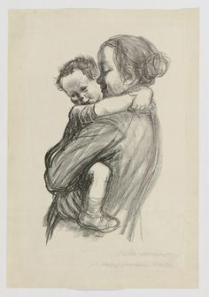Käthe Kollwitz: Mutter mit Jungen