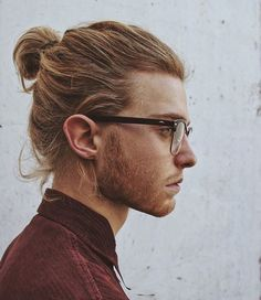 hot, red, kiss, lips, aesthetic, boy, sitemodel, star, elaynealmoses, beautiful, clothes, ponytail, white, nose, cheekbones, glasses, grunge, tumblrboy, indie, love, fashion, brown, kawaii, beauty, tumblr, beard, hair, messyhair, amazing, model