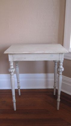 Antique 19th Century Swedish Gustavian End Table