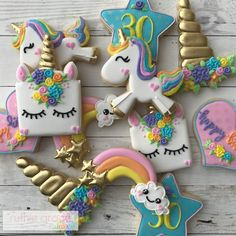 "563 Likes, 42 Comments - Katie Brown (@ruthiegracecakeco) on Instagram: ""Oh good golly...what a fun way to start the day! Nothing better than unicorns, rainbows and cute…"""