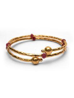 3 Thread Spiral Bracelet - SALE