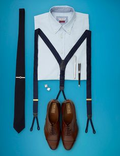 Have everything. Just need the suspenders :)