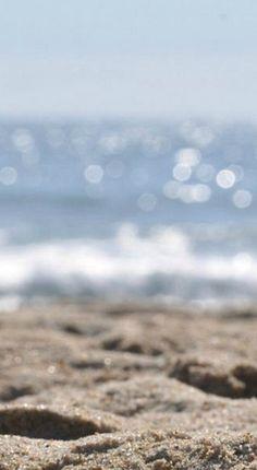 sun lit beach....