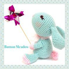 My little crochet rabbit
