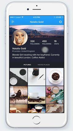 90Cities - iOS Travel UI Kit on Behance