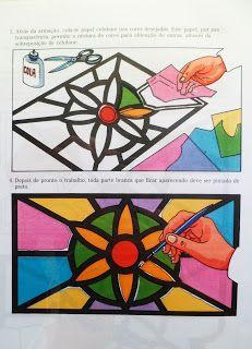 Aula de Artes - Professor Douglas: Arte Vitral
