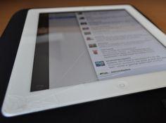 Bah, quebrei a tela do meu iPad...