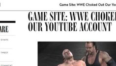 """The story of WWE and our ill-fated YouTube channel: Games Asylum: """"YouTube in 2007 was remarkably different to the YouTube of today. The…"""
