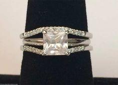10kt White Gold Pave Diamond Wrap Guard Solitaire Enhancer Curve Contour Band (0.14ctw) by RG&D... #gold #diamonds #ringguard #wrap #enhancer #fashion #jewelery #love #gift #ringjacket #engagement #wedding #bridal #engaged #whitegold #yellowgold #online #shopping #jewelry #pintrest #follow #richmondgoldanddiamonds
