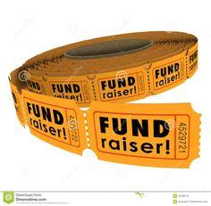 Fundraiser 50 Fifty Raffle Ticket Roll Charity Event Raising Mon ...