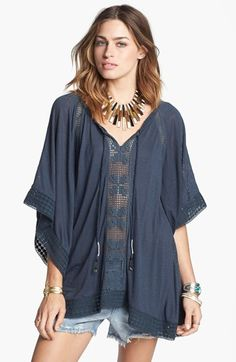 Free People 'Rave On' Draped Top available at #Nordstrom