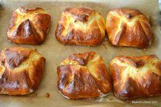 coacere branzoaice sau poale in brau reteta pas cu pas Feta, French Toast, Muffin, Bread, Baking, Breakfast, Morning Coffee, Bakken, Backen