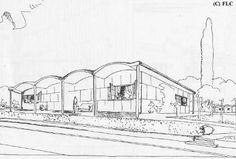 Maison Monol arch. Le Corbusier proj. 1920