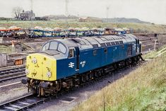 40057 – Millerhill c 1980 Electric Locomotive, Diesel Locomotive, Steam Locomotive, Train Room, Milwaukee Road, Britain Uk, Hand Pipes, British Rail, Old Trains