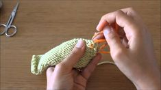 Curso tricot - Querido tricot: rematar as linhas (weave in the ends)