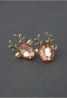 Deer Beads Earrings $12