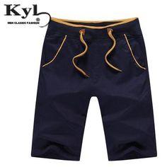 e907ccd719 2016 Men Summer Casual Shorts Panelled Brand 95% Cotton Mens modkily Beach  Casual, Men