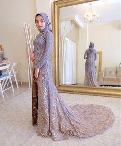 Kebaya Wedding, Muslimah Wedding Dress, Wedding Hijab, Diy Wedding, Dream Wedding, Indonesian Kebaya, Kebaya Brokat, Model Kebaya, Hijab Dress