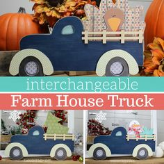 You can order a different insert for each holiday/season through the year. So fun! You can leave this up all year long. Order this here! Thanksgiving Wood Crafts, Fall Crafts, Barn Wood Crafts, Wooden Crafts, Truck Crafts, Craft Show Ideas, Play Ideas, Craft Kits, Wooden Welcome Signs