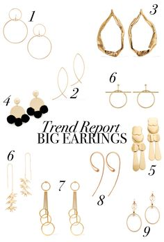 I'm in love with statement jewelry. Number one pieces on my wishlist at the moment? Statement earrings. Those are my absolute favourites: http://jillepille.com/trend-alert-statement-ohrringe/