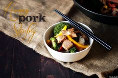 Can't wait to try this one. Honey Pork Stir Fry.