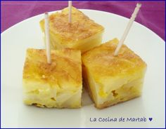 pincho de tortilla de patata