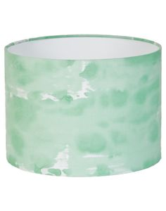 Green Watercolour Lamp Shade