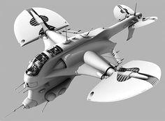 ca clarck concept ship