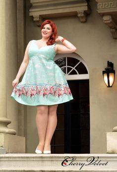 44701f2f3f Flamingo Sally-Plus Plus Size Rockabilly